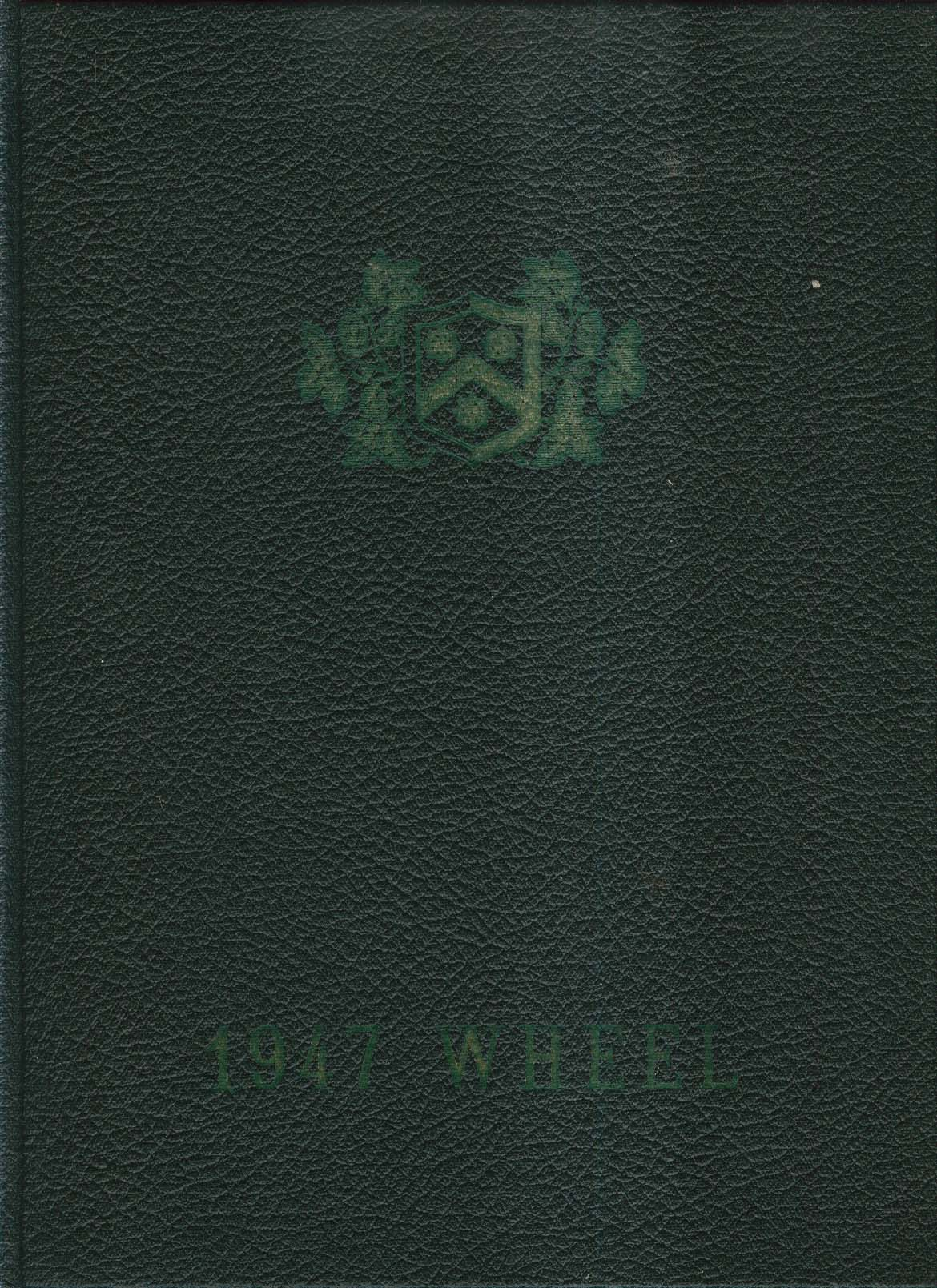 1947 Wheel Wheelock College Boston Massachusetts MA Yearbook