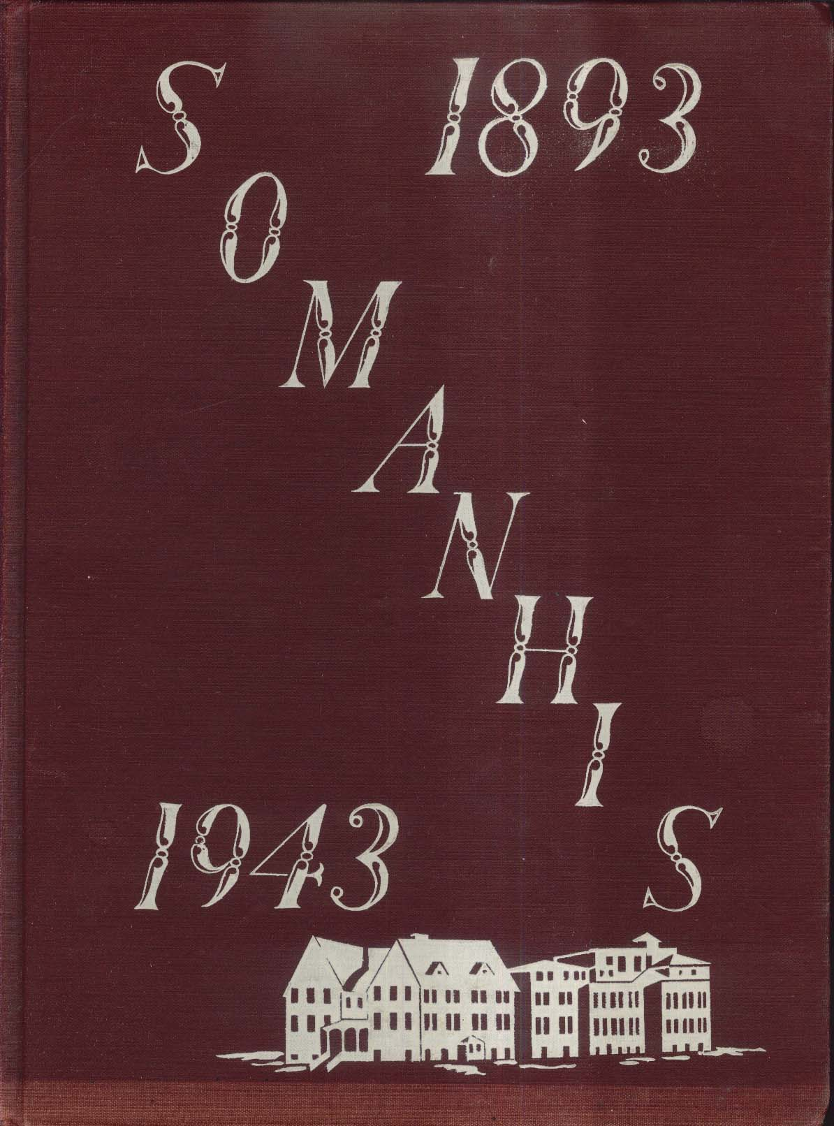 Image for Somanhis 1943 Manchester High School Manchester Connecticut Yearbook
