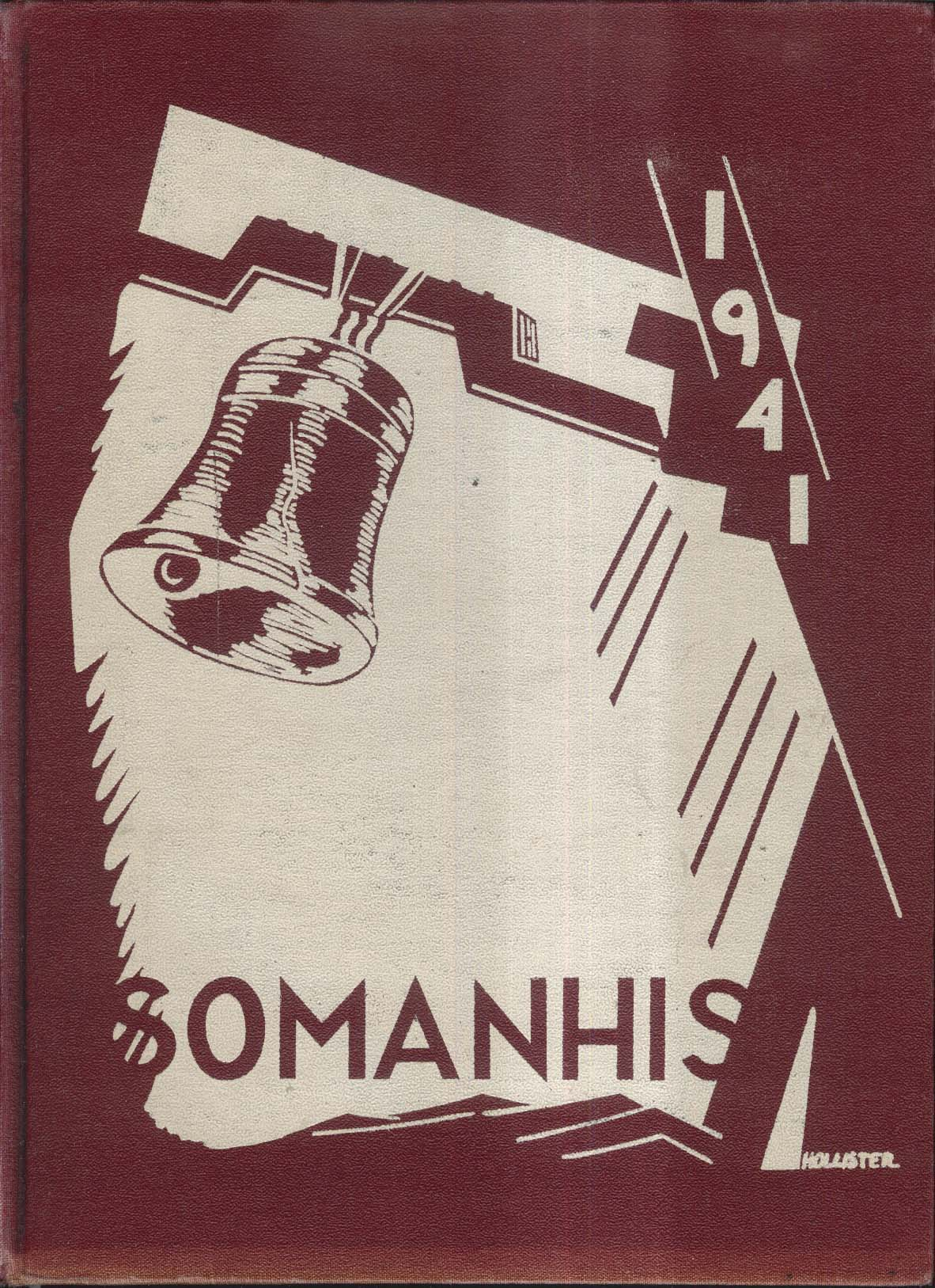 1941 Somanhis Manchester High School Manchester Connecticut Yearbook