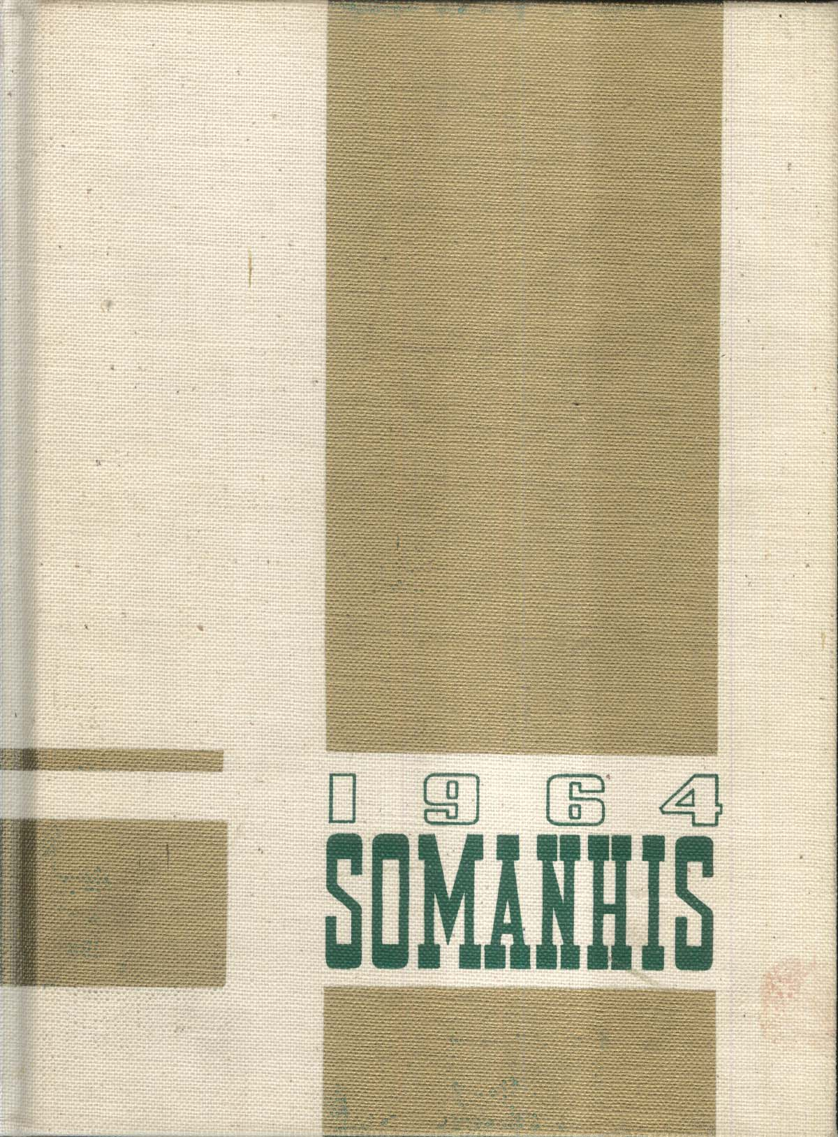 1964 Somanhis Manchester High School Manchester Connecticut Yearbook