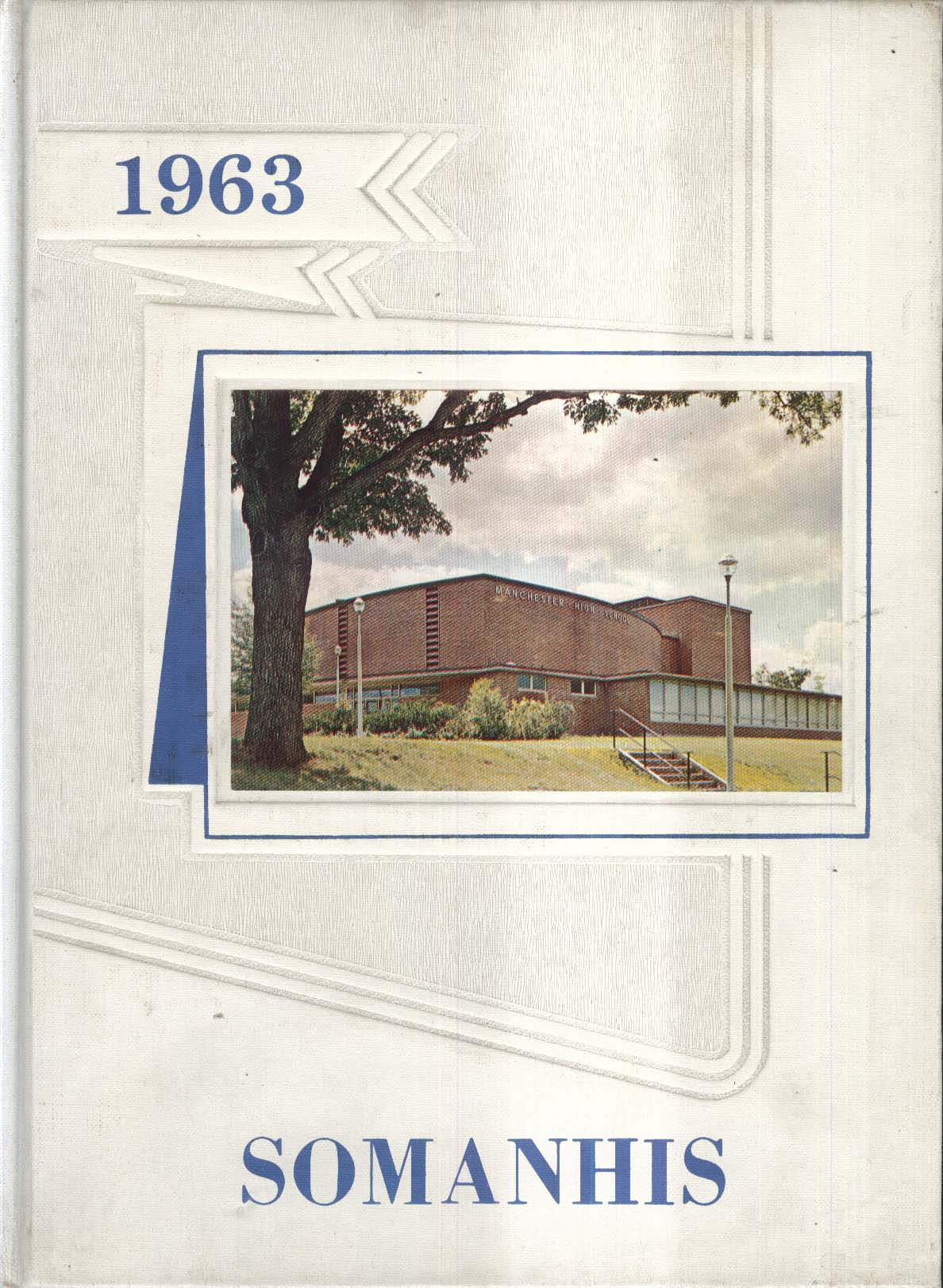 1963 Somanhis Manchester High School Manchester Connecticut Yearbook