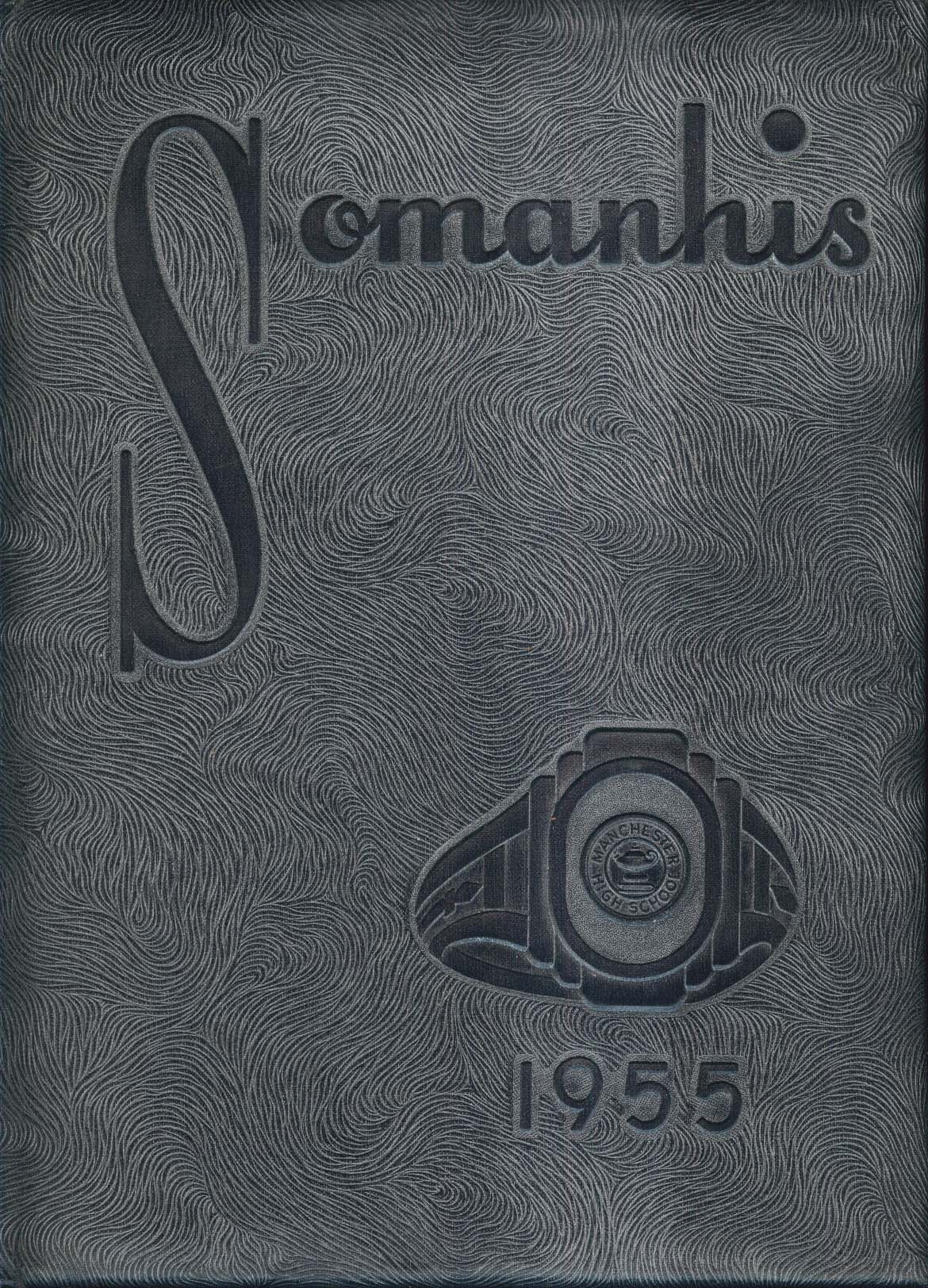 Image for Somanhis 1955 South Manchester High School Connecticut Yearbook Moe Morhardt