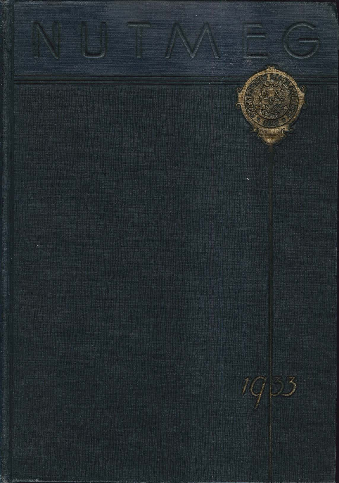 Image for Nutmeg 1933 State College of Connecticut Storrs Connecticut Yearbook
