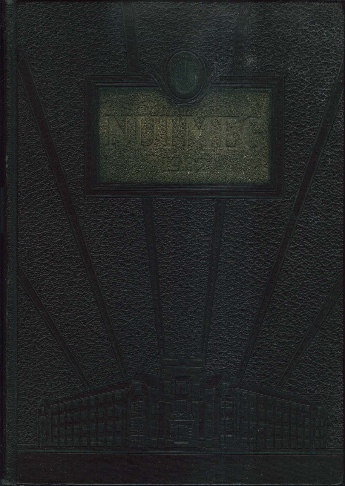 Image for Nutmeg 1932 Connecticut State College Yearbook