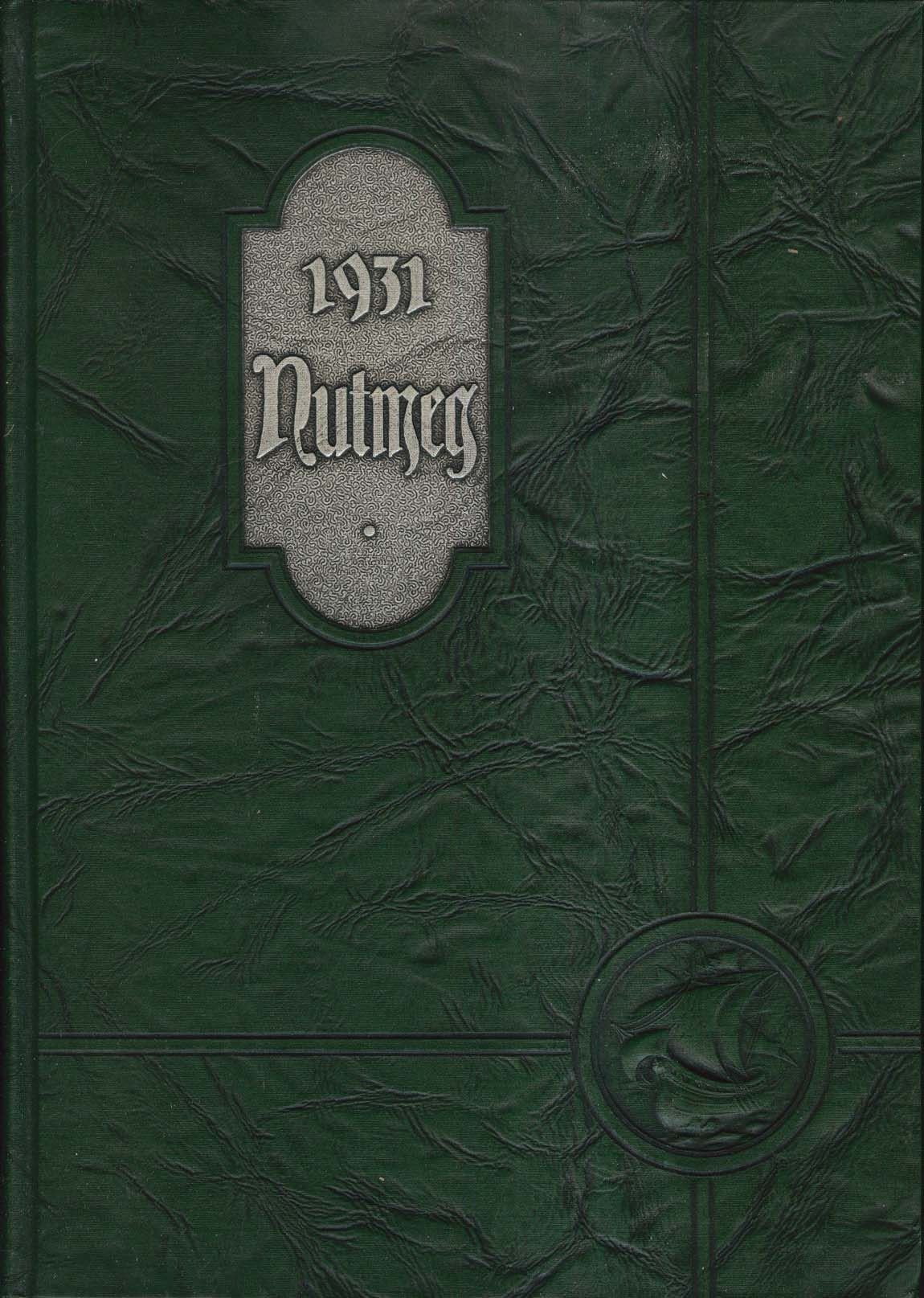 1931 Nutmeg Connecticut Agricultural College Yearbook