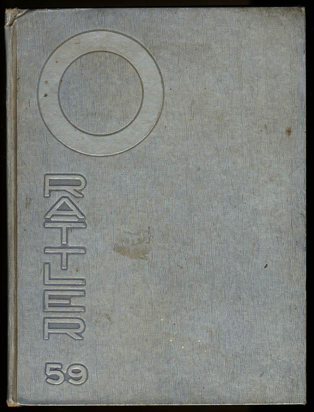 Otero Junior College La Junta Colorado CO Rattler 1959 Yearbook