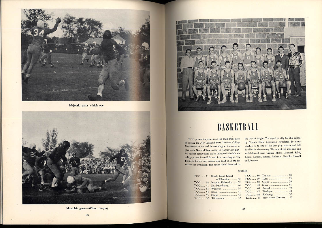 Dial 1948 Teachers College of Connecticut CT Yearbook