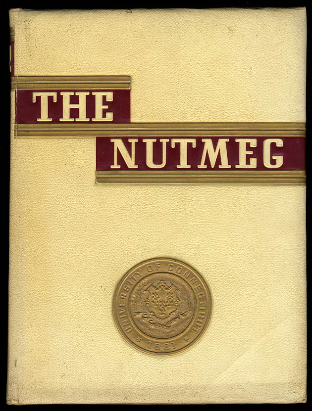 Image for The Nutmeg 1942 University of Connecticut Yearbook