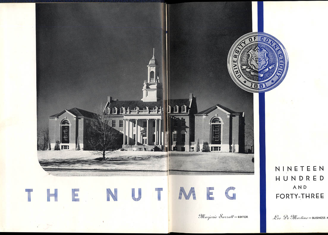The Nutmeg University of Connecticut 1943 Yearbook