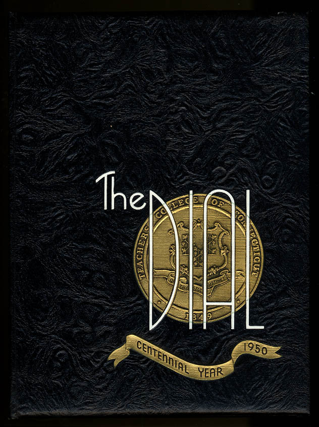 Dial 1950 Teachers College of Connecticut New Britain CT Yearbook