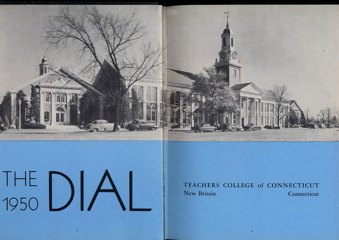 Image for Dial 1950 Teachers College of Connecticut New Britain CT Yearbook