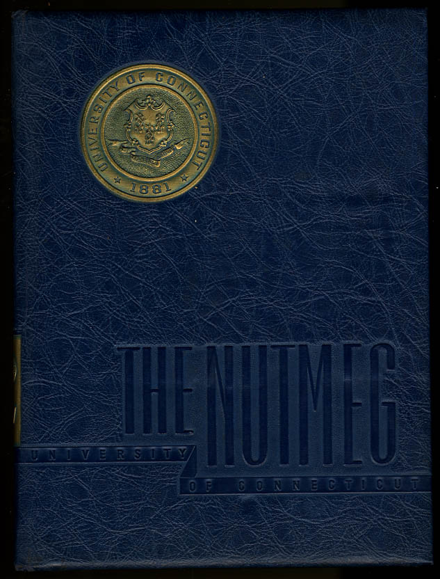 Nutmeg University of Connecticut CT 1947 Yearbook Walt Dropo