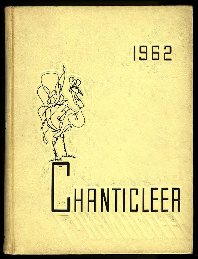 Chanticleer 1962 Duke University Durham North Carolina NC Yearbook