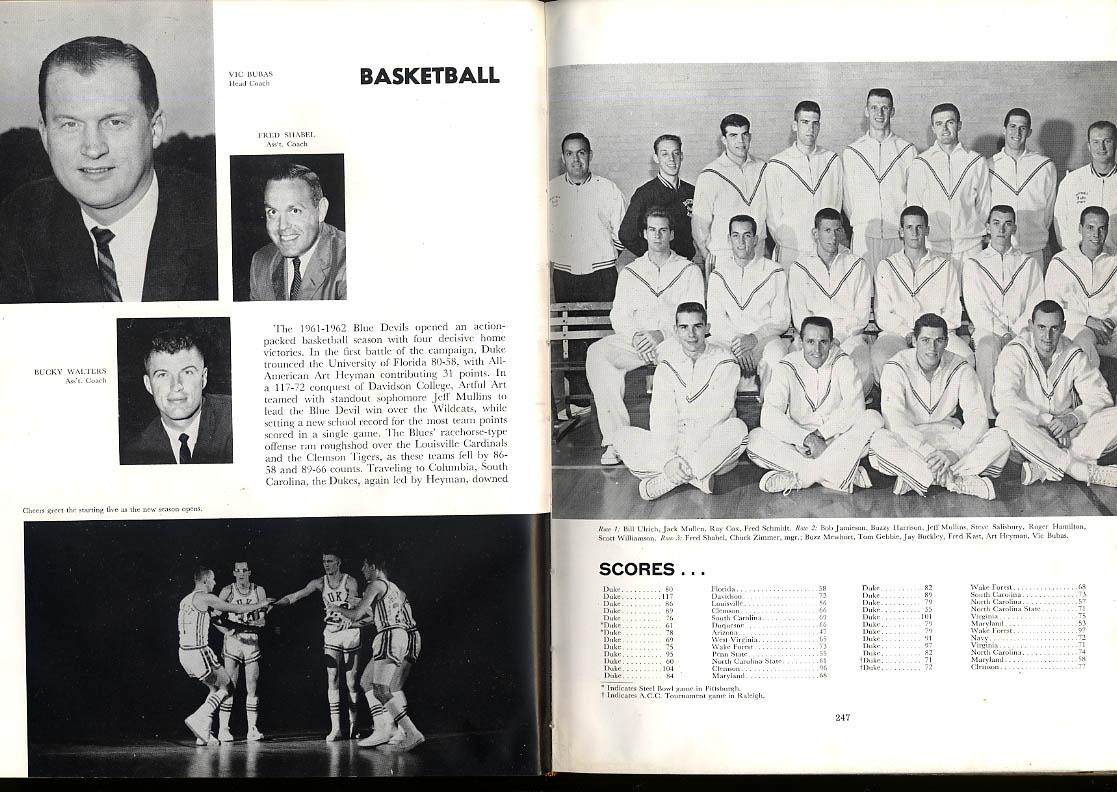 Image for Chanticleer 1962 Duke University Durham North Carolina NC Yearbook