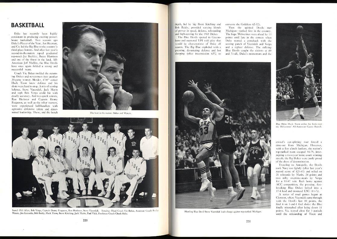Image for Chanticleer 1965 Duke University Yearbook Wray Carlton Robet Coleman Richardson