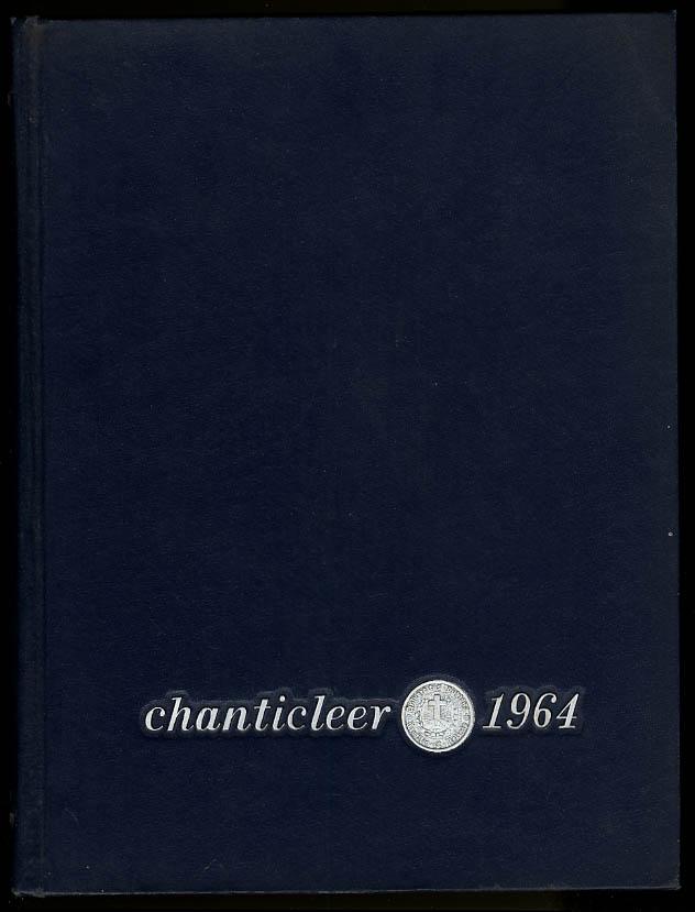 Chanticleer 1964 Duke University Durham North Carolina Yearbook Charlie Rose PBS