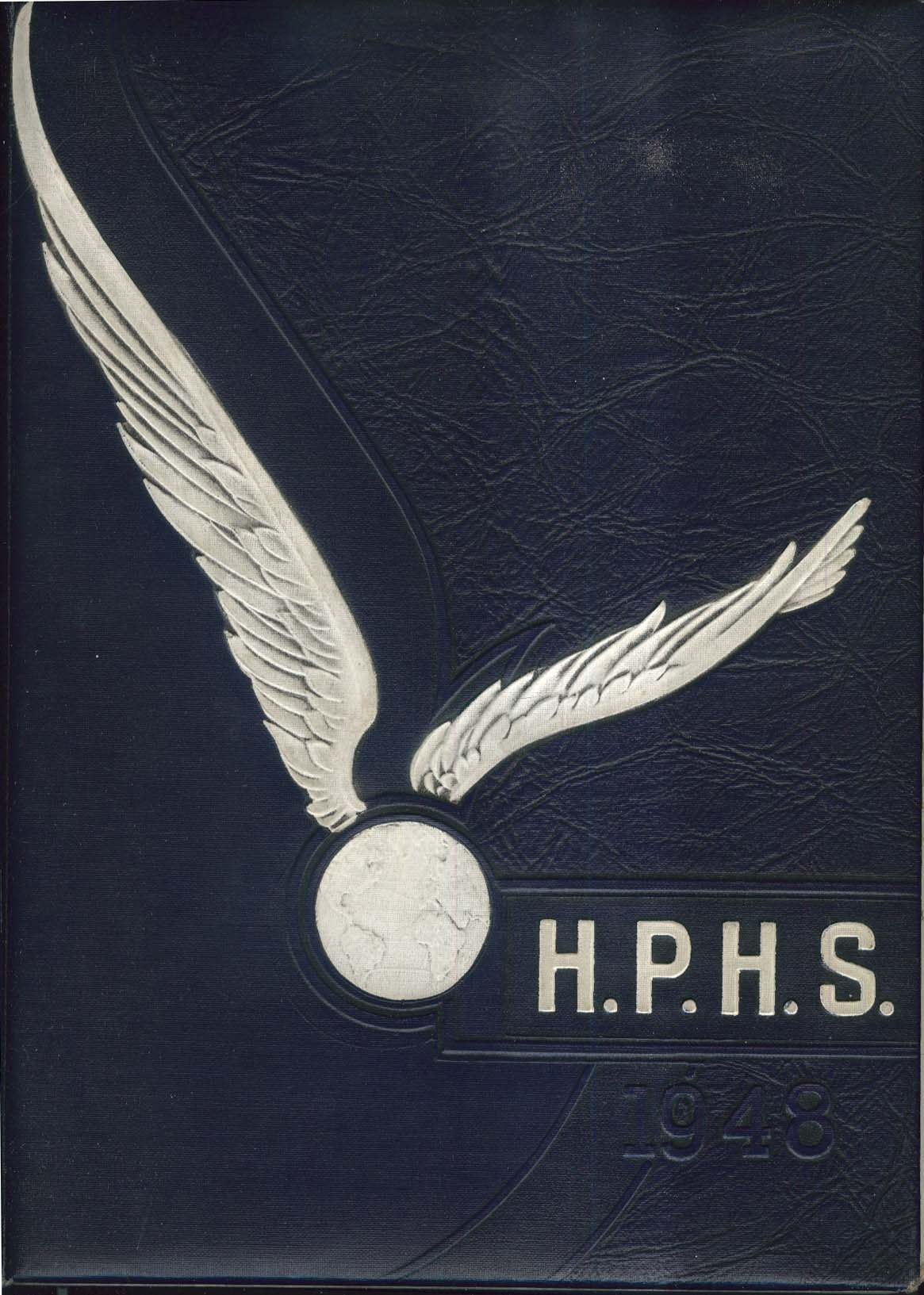 Image for HPHS 1948 Yearbook Hartford Public High School Connecticut CT