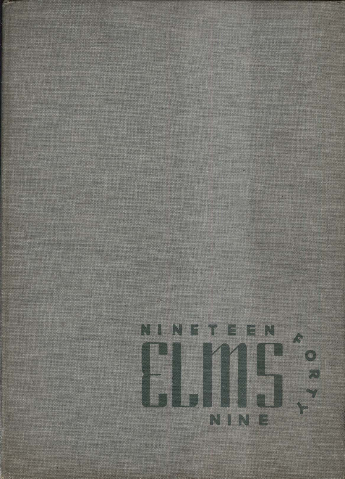Elms 1949 New York State College for Teachers Buffalo NY Yearbook