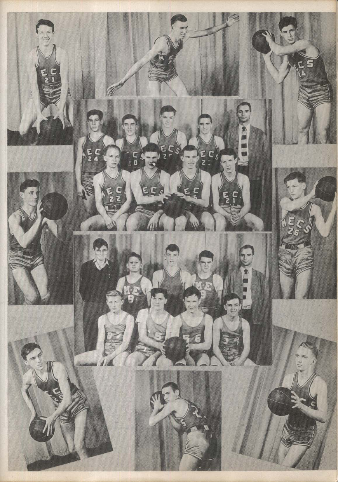 Image for Amariah 1945 Morrisville Eaton Central School New York Yearbook