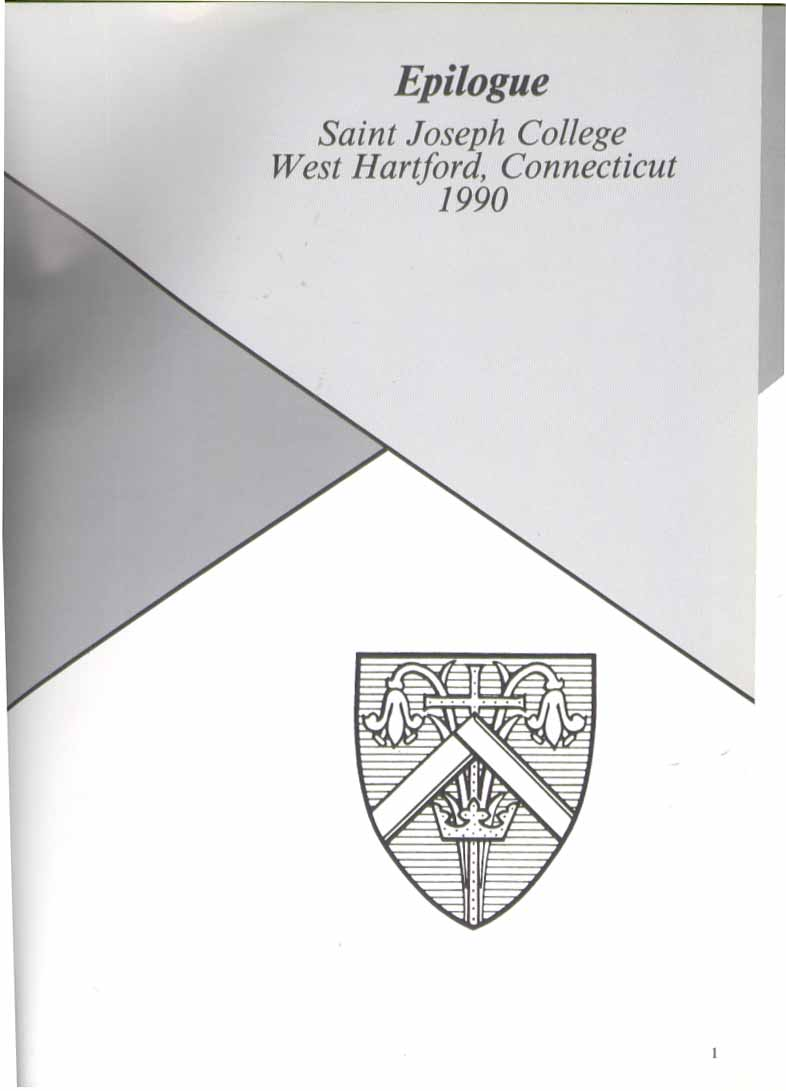 Image for Epilogue Saint Joseph College West Hartford CT 1990 Yearbook