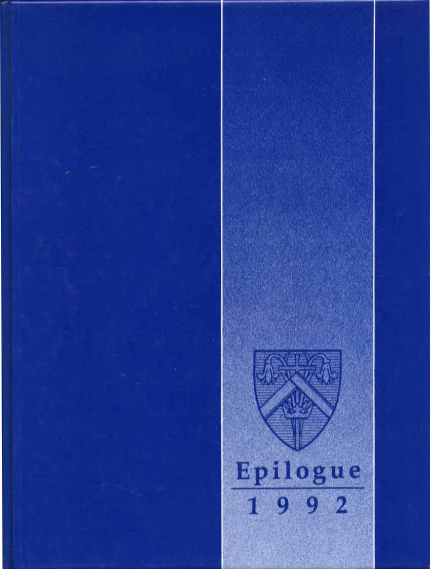 Image for Epilogue Saint Joseph College West Hartford CT 1992 Yearbook
