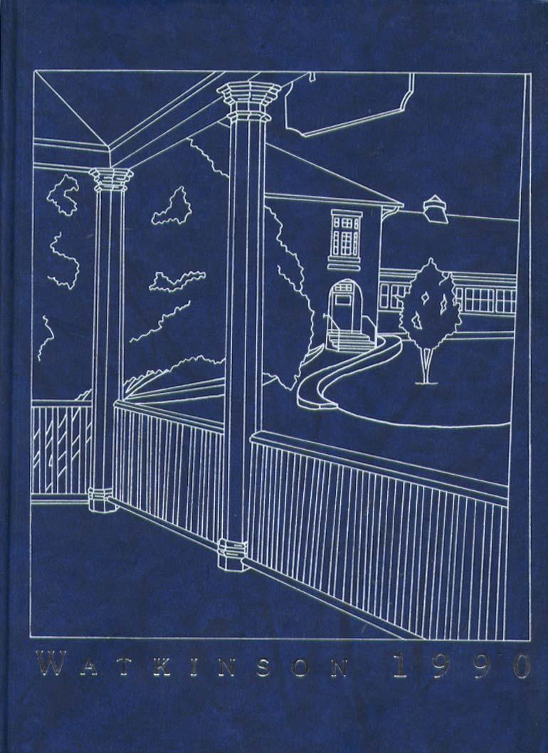 Image for Watkinson School Hartford CT 1990 Yearbook