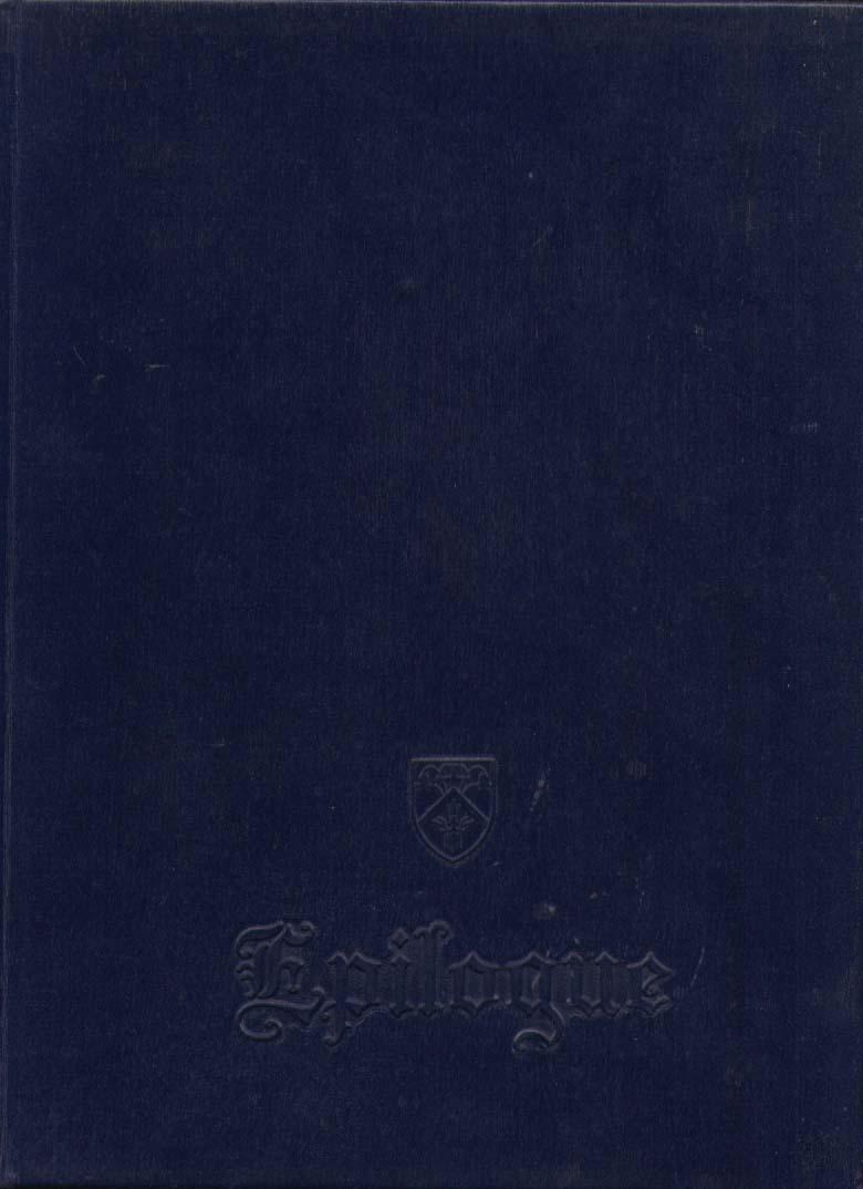 Epilogue Saint Joseph College West Hartford CT 1960 Yearbook