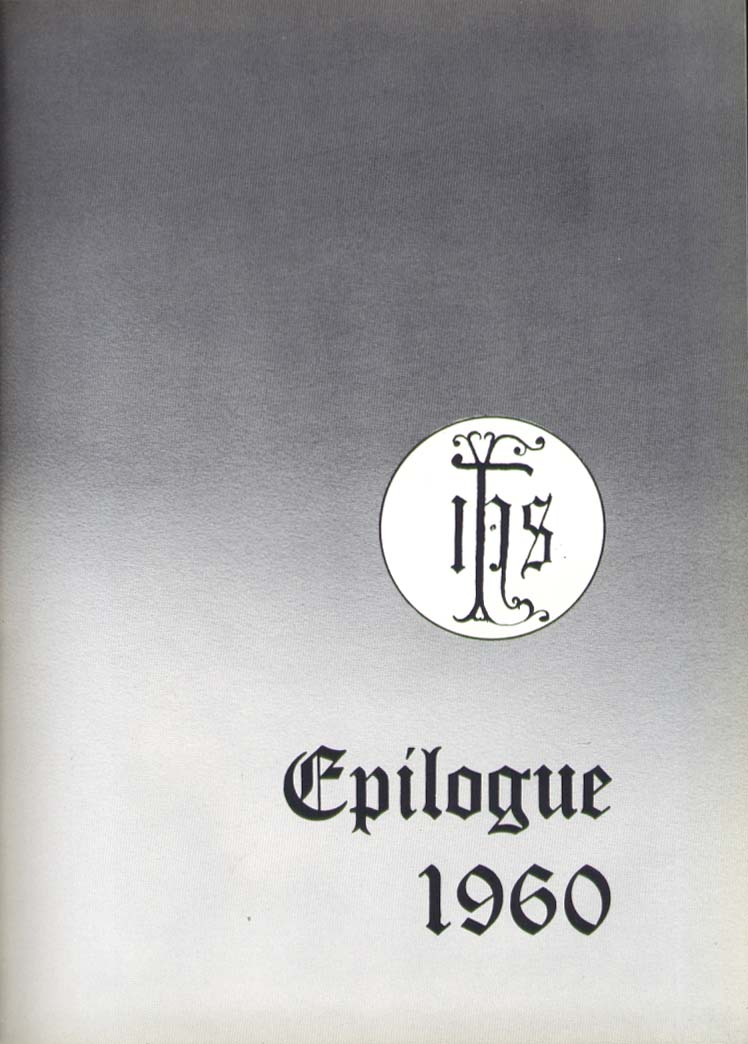 Image for Epilogue Saint Joseph College West Hartford CT 1960 Yearbook
