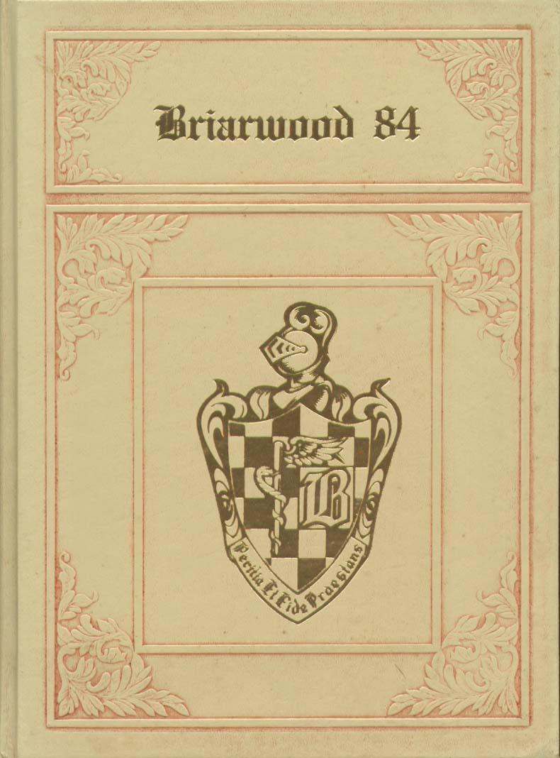 Briarwood College Southington CT 1984 Yearbook