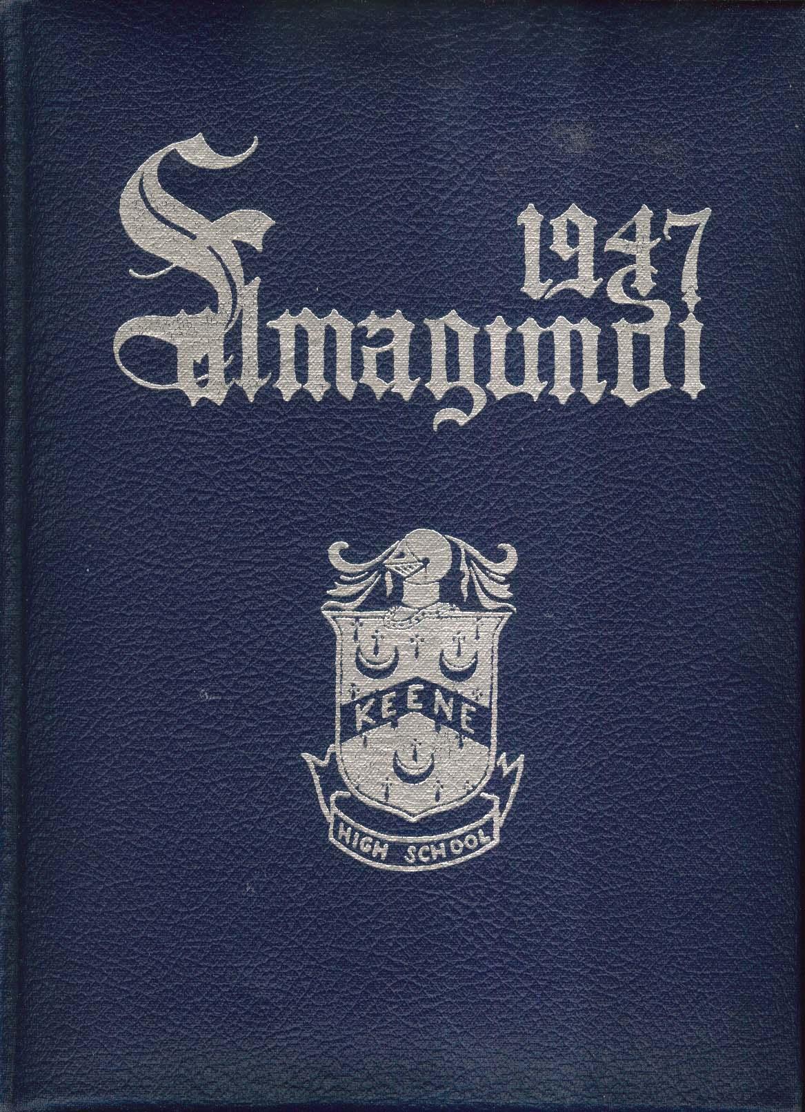 Image for 1947 Salmagundi Keene High School Yearbook Keene New Hampshire NH