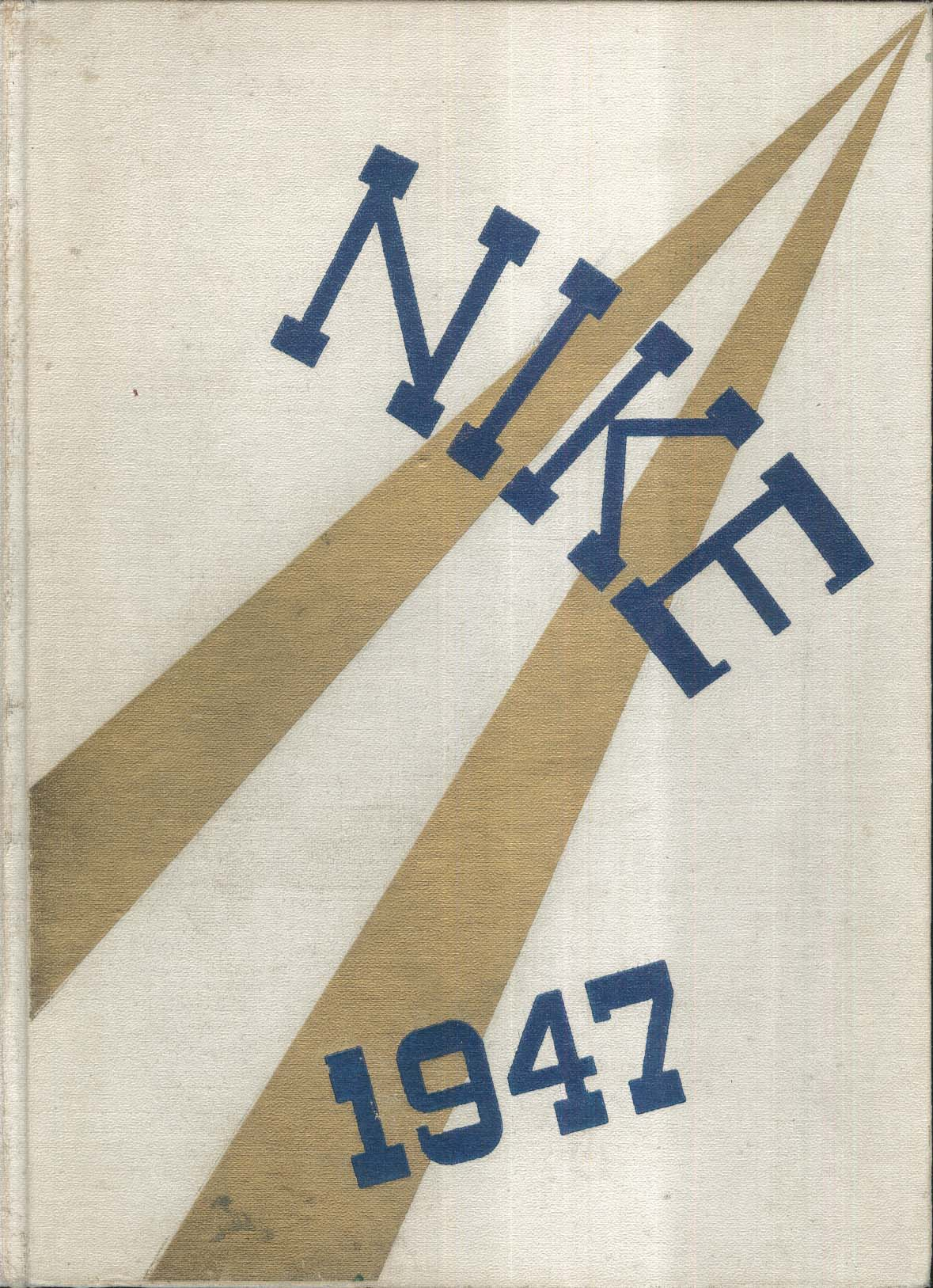 Image for Nike 1947 Wheaton College Yearbook Norton Massachusetts MA