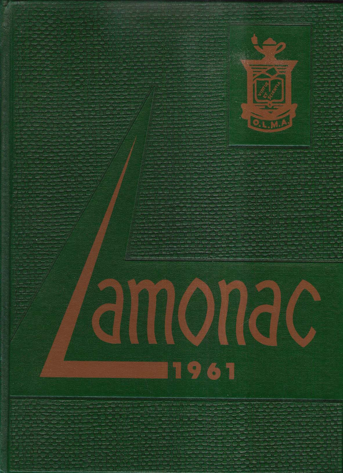 Lamonac 1961 Lady of Monadnock Academy Yearbook Jaffrey New Hampshire NH