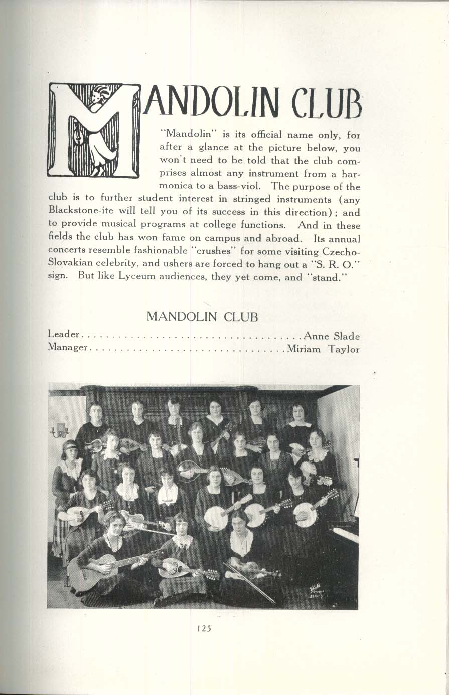 Koine 1924 Connecticut College for Women Yearbook
