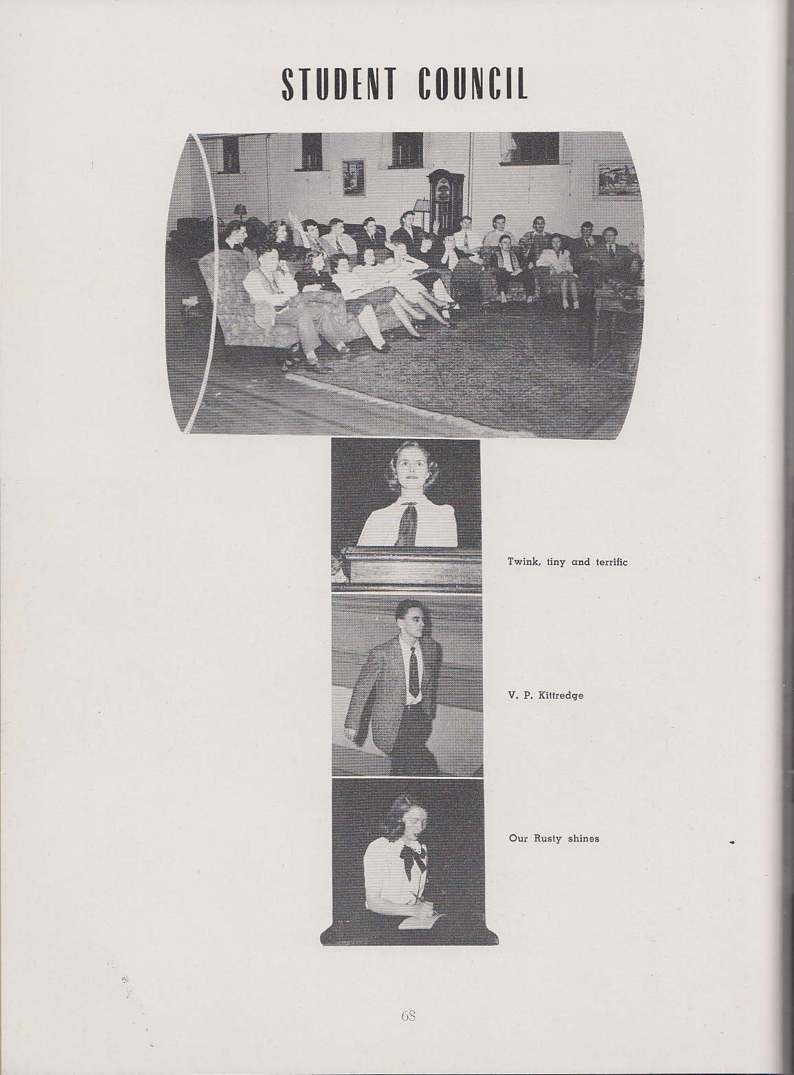 Image for New York State College for Teachers Pedagogue 1948 Yearbook Albany New York NY