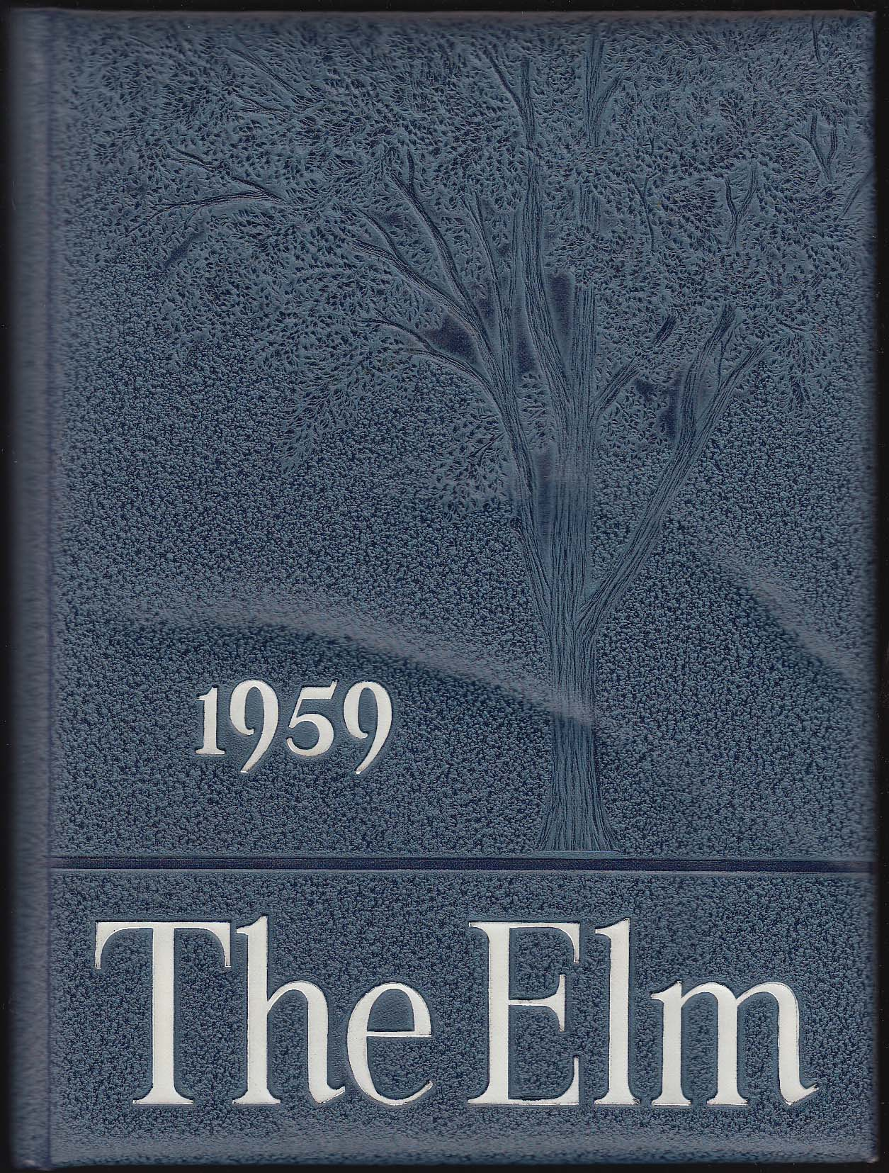 1959 The Elm Yearbook Wethersfield High School Wethersfield Connecticut CT