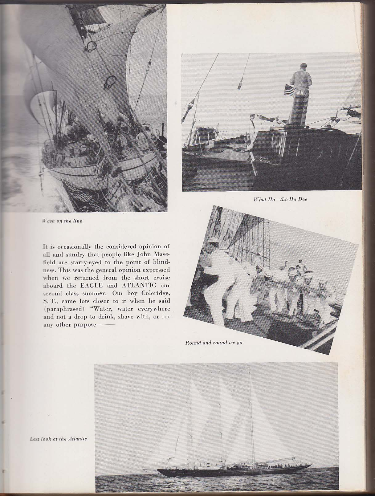 Image for Tide Rips 1949 United States Coast Guard Academy Yearbook Sidney Wallace ++