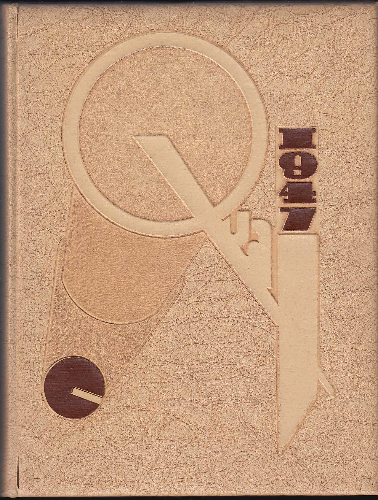 1947 QUAX Yearbook Drake University Des Moines Iowa IA