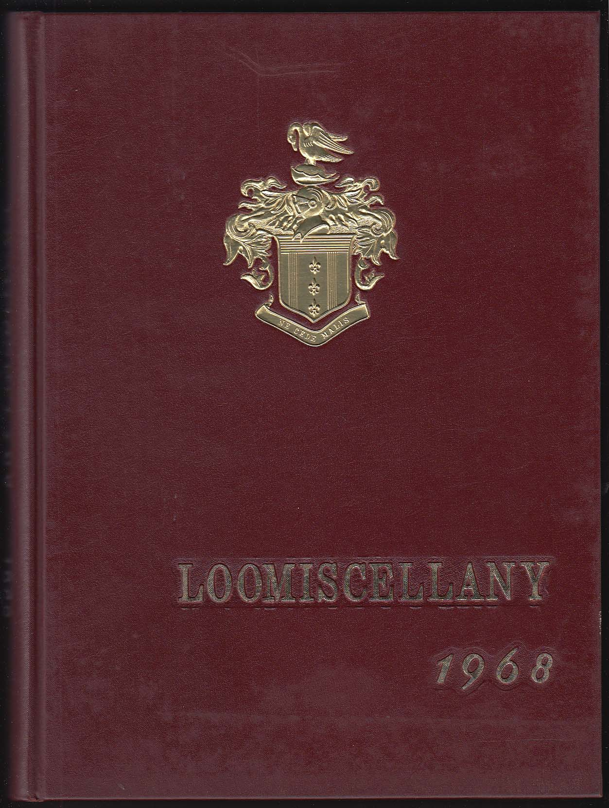 Image for Loomiscellany 1968 Yearbook Loomis School Windsor Connecticut CT