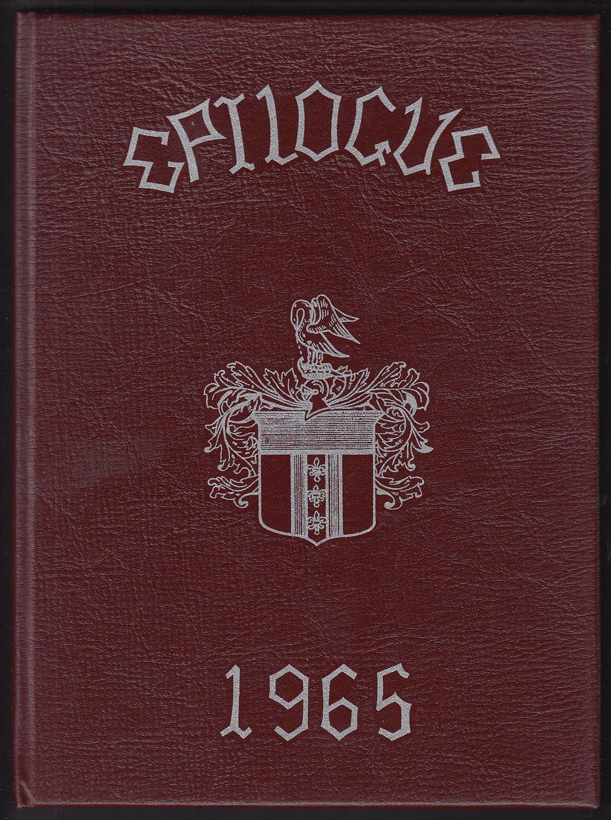 Epilogue 1965 Yearbook Chaffee School Loomis Institute Windsor Connecticut CT
