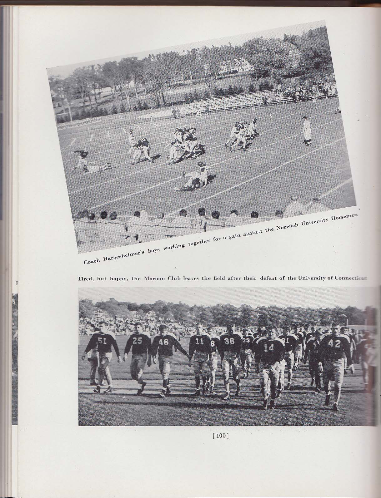 1942 Index Yearbook Massachusetts State College Amherst MA