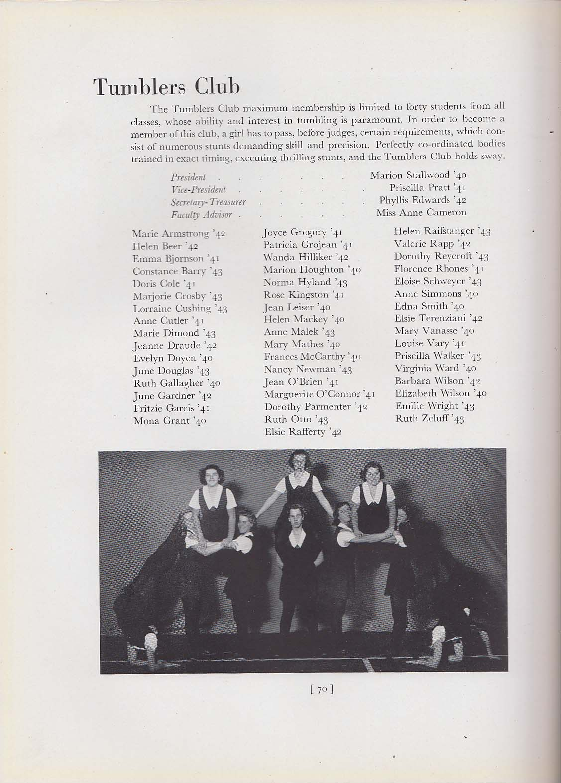 Image for Sargenta 1940 Yearbook Sargent College Cambridge Massachusetts MA