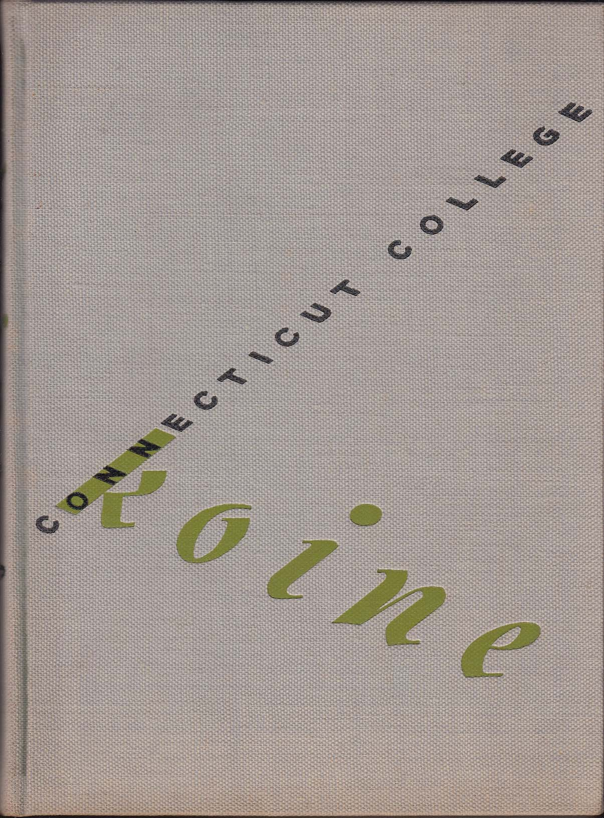 Koine 1943 Yearbook Connecticut College for Women New London CT