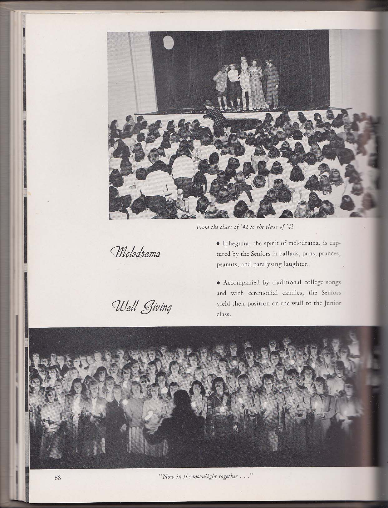 Image for Koine 1943 Yearbook Connecticut College for Women New London CT
