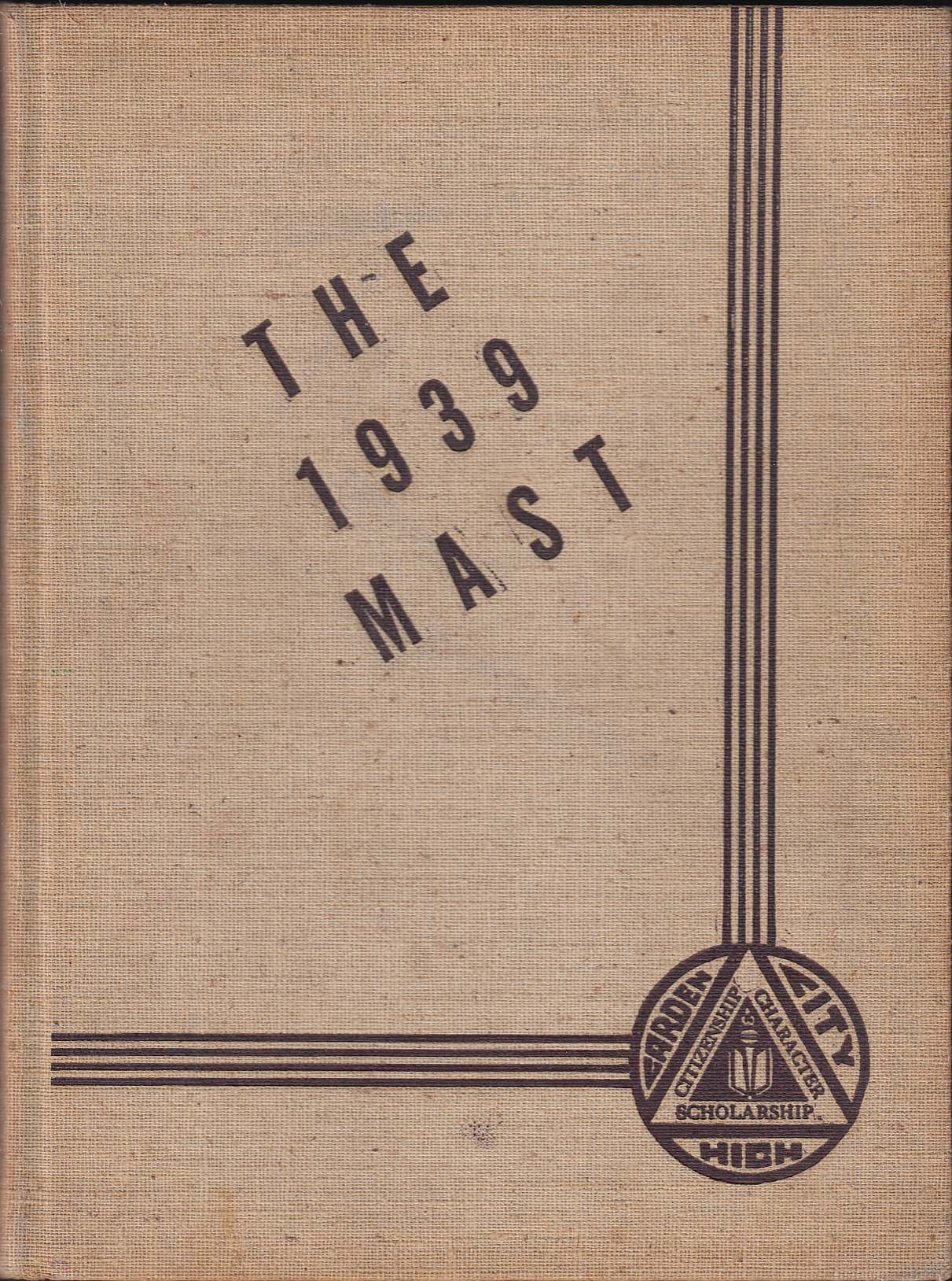 1939 Mast Yearbook Garden City High School Garden City New York