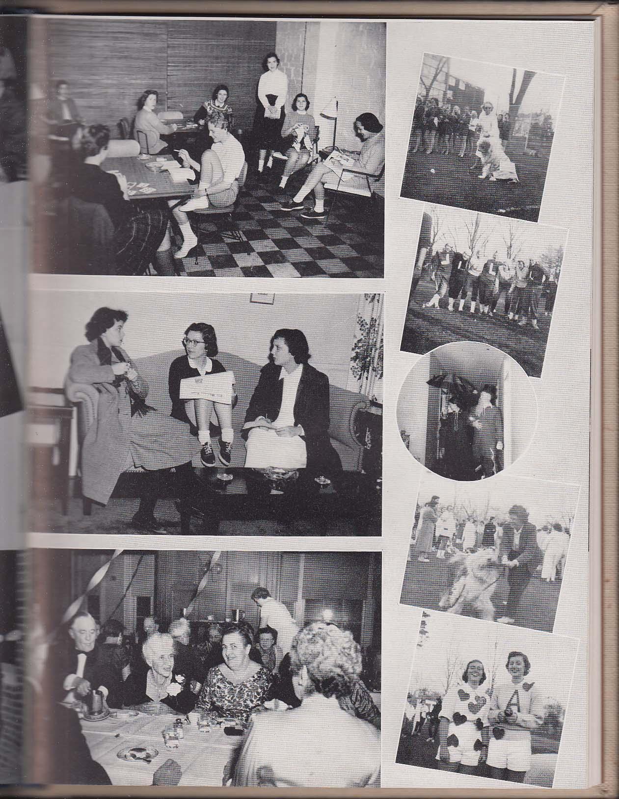 Image for Nike 1955 Yearbook Wheaton College Norton Massachusetts MA