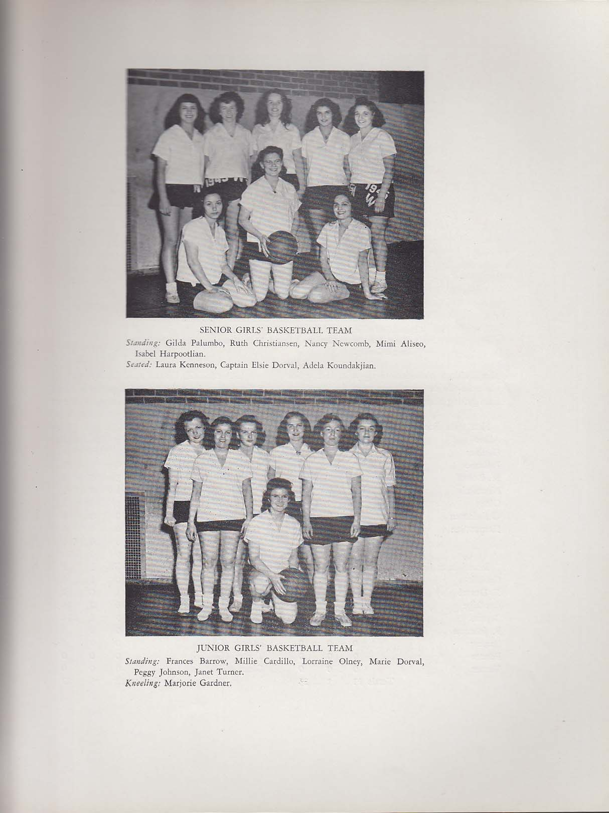 Image for Commencement Mirror 1945 Yearbook Waltham High School Waltham Massachusetts MA