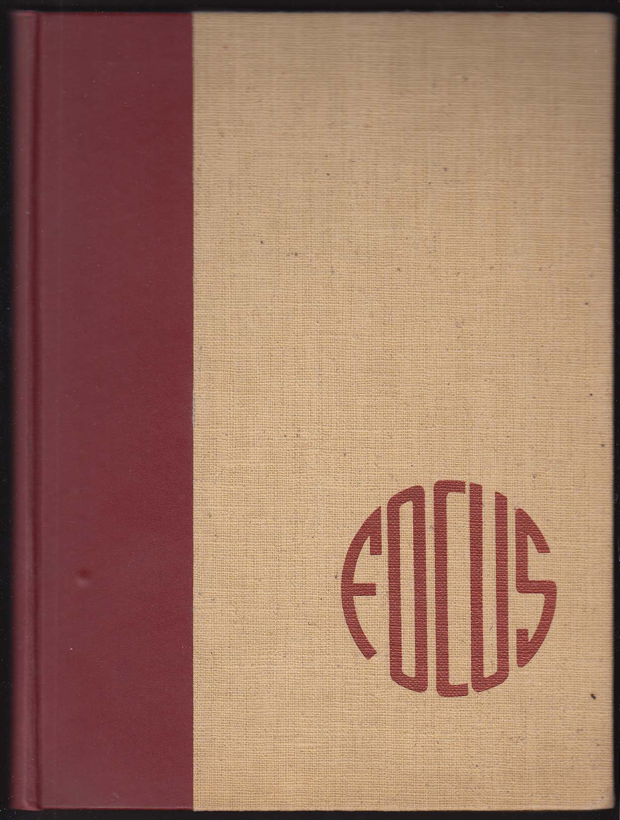 Focus 1942 Yearbook Dana Hall School Wellesley Massachusetts MA