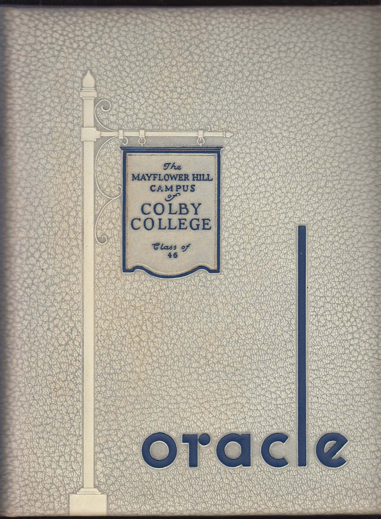 Image for Oracle 1946 Yearbook The Mayflower Hill Campus of Colby College Waterville Maine