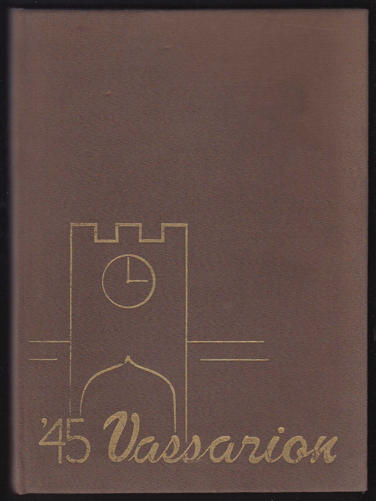 1945 Vassarion Yearbook Vassar College Poughkeepsie New York