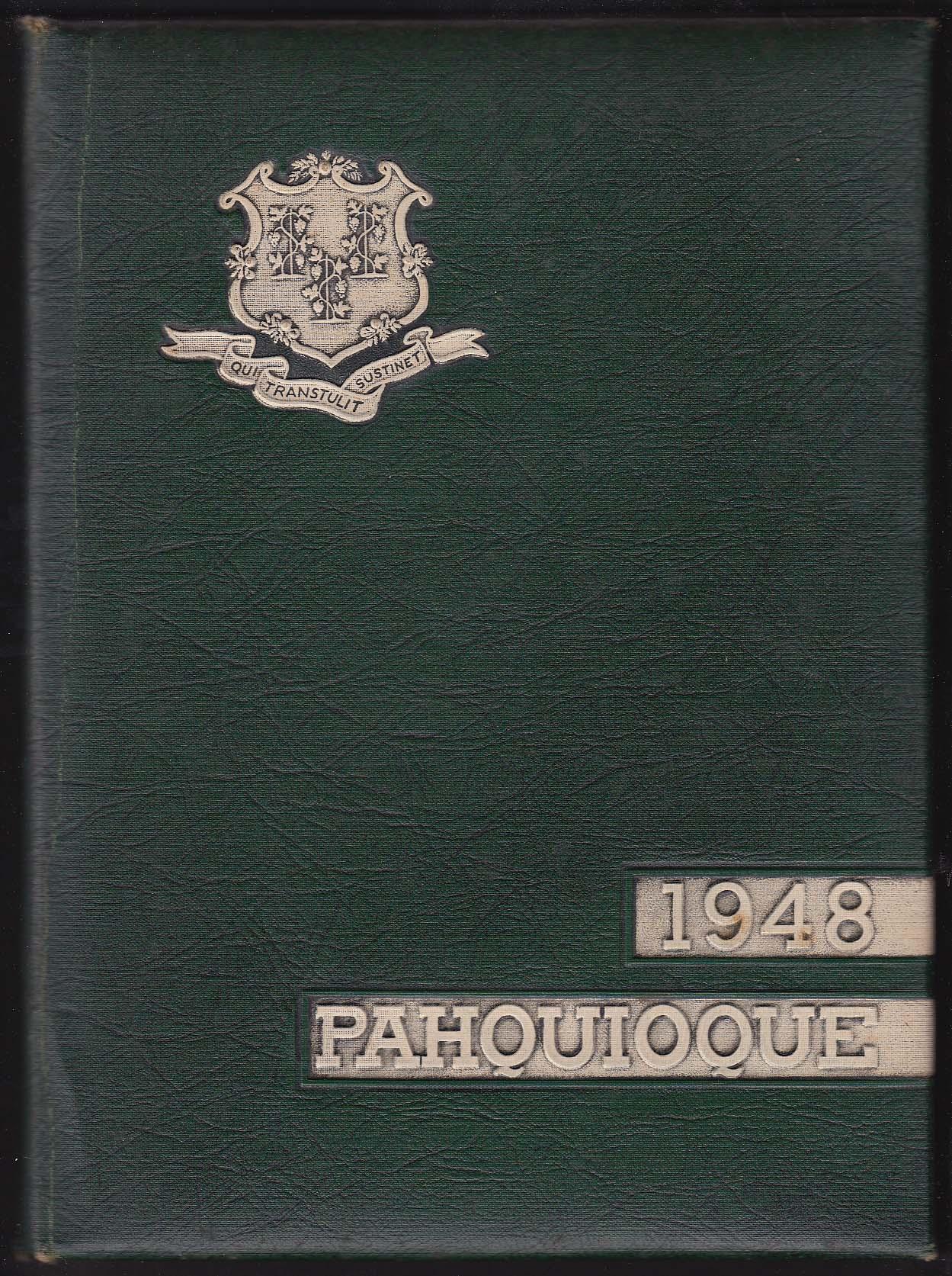 Image for 1948 Pahquioque Yearbook Danbury State Teachers College Danbury Connecticut CT